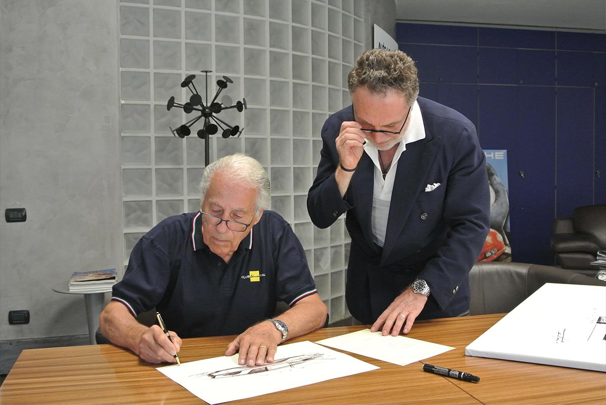 Paolo Martin Autografa le sue opere