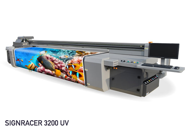OutsidePrint - Stampa digitale online con Signracer 3200 UV