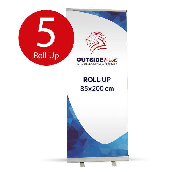 5 Roll-Up Basic 85x200