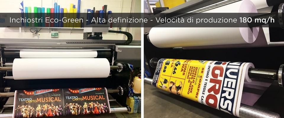 Stampa 70x100 blue back personalizzato