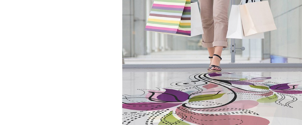 Stampa Adesivi per pavimenti