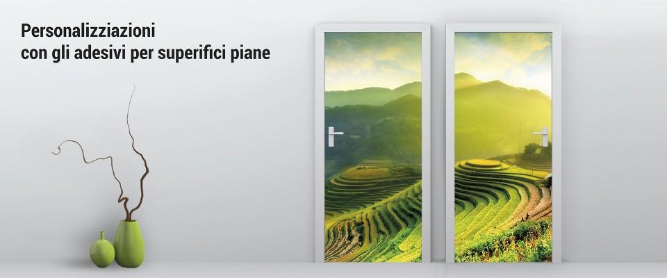 Adesivi per superfici piane 100x100 cm personalizzato