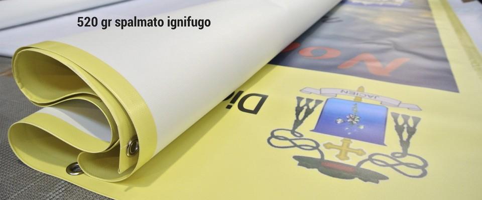 Banner 520 gr ignifugo