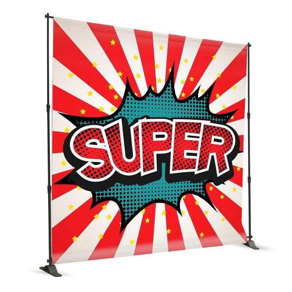 Banner a Parete Telescopico Elettorale