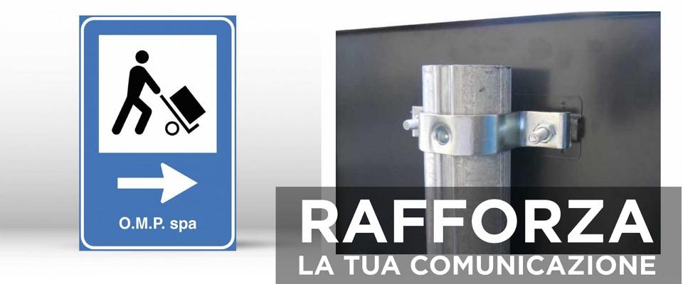 Cartello Segnaletico CARICO E SCARICO MERCI 60x90 cm personalizzato