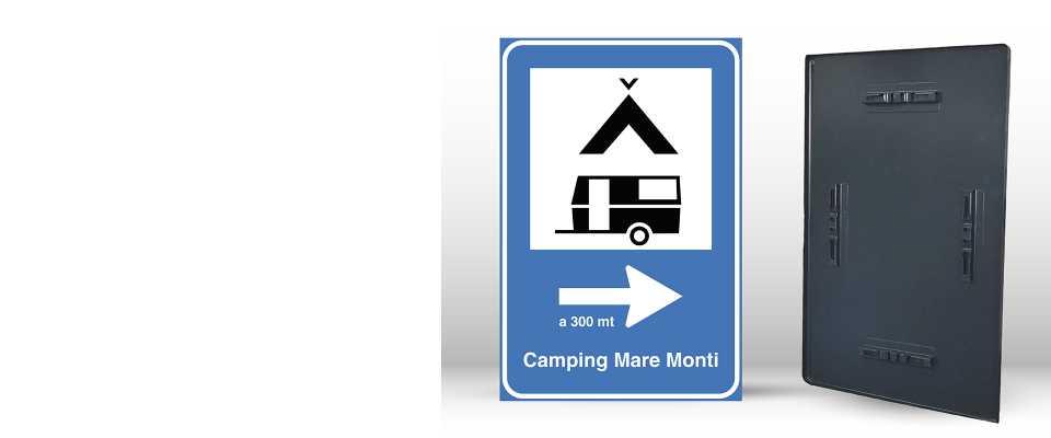 Cartello Segnaletico per CAMPEGGIO 60x90 cm online