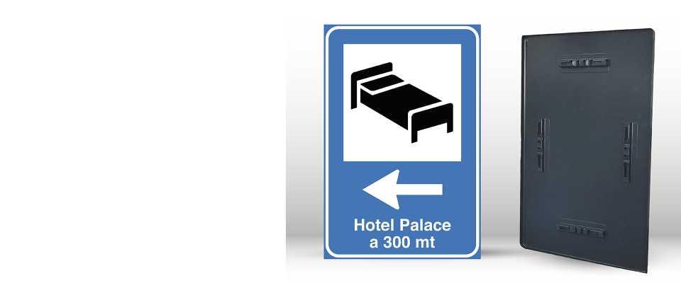 Cartello Segnaletico per HOTEL 60x90 online