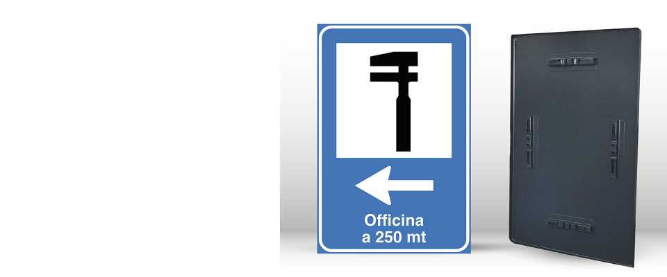 Cartello Segnaletico per OFFICINA 60x90 cm online