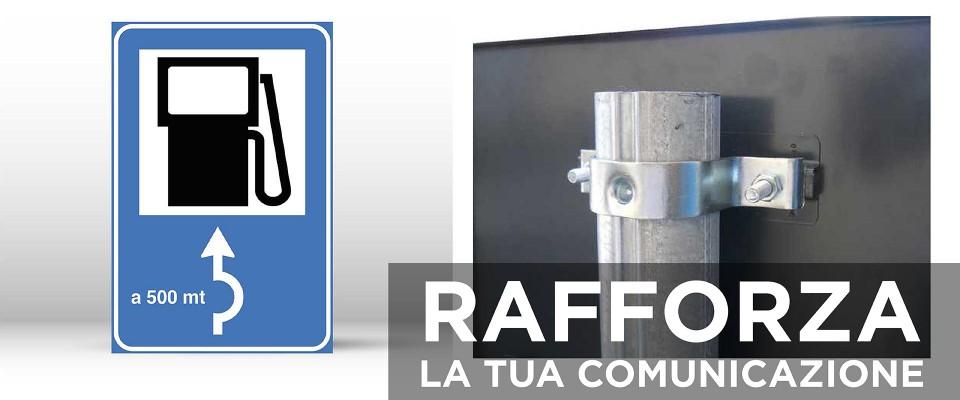 Cartello Segnaletico per RIFORNIMENTO 60x90 cm personalizzato