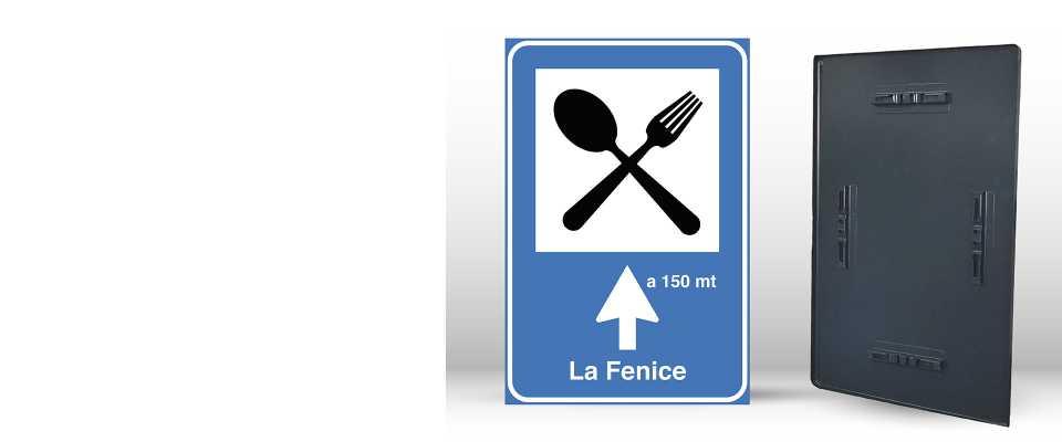 Cartello Segnaletico per RISTORANTE 60x90