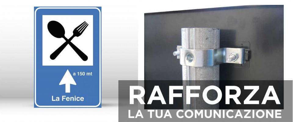 Cartello Segnaletico per RISTORANTE 60x90 cm personalizzato