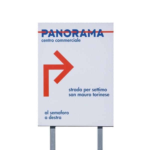 Cartello pubblicitario 150x200