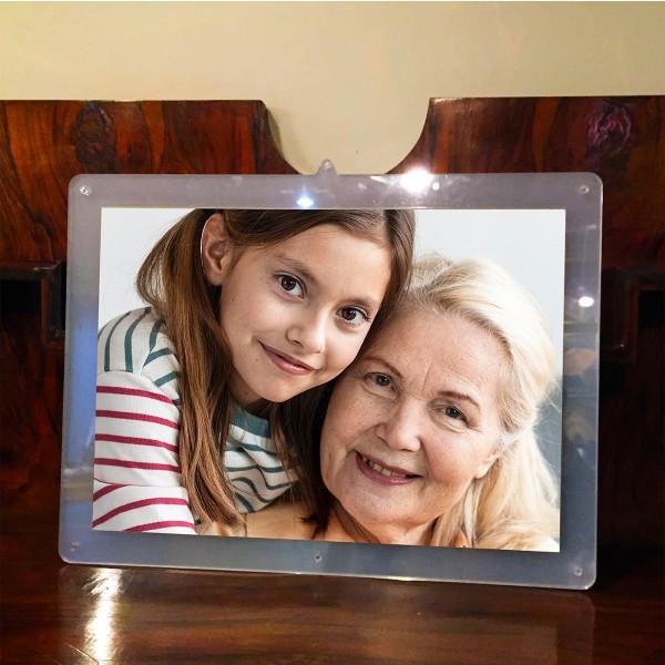 Cornice porta foto in Plexiglas