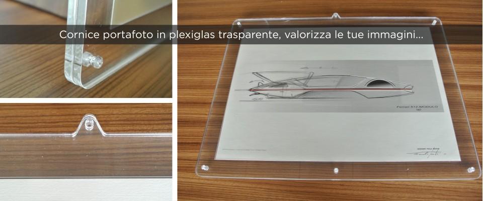 Cornice portafoto in Plexiglas trasparente online