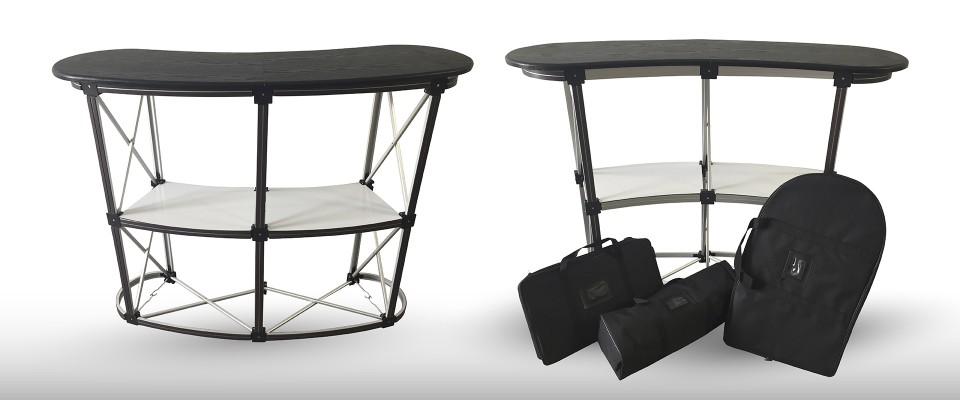 Desk Promozionale Pop Up allestimento stand desk promozionali banchetti promozionali desk pubblicitari Desk promozionali personalizzabili in alluminio e PVC semirigido per allestimento fiere e esposizioni. Visita il nostro sito