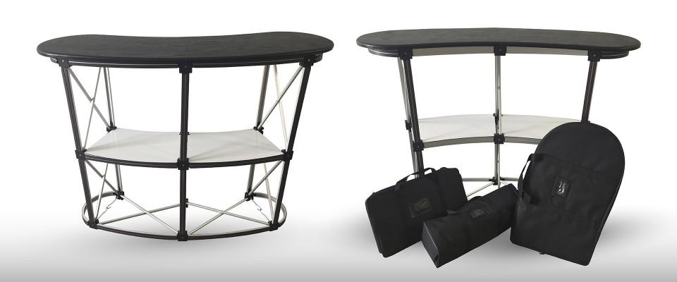 Desk (banchetto) promozionale allestimento stand desk promozionali banchetti promozionali desk pubblicitari espositori personalizzati
