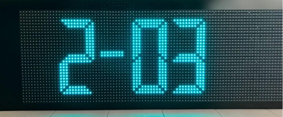 Display Ora Data e Temperatura - per esterno