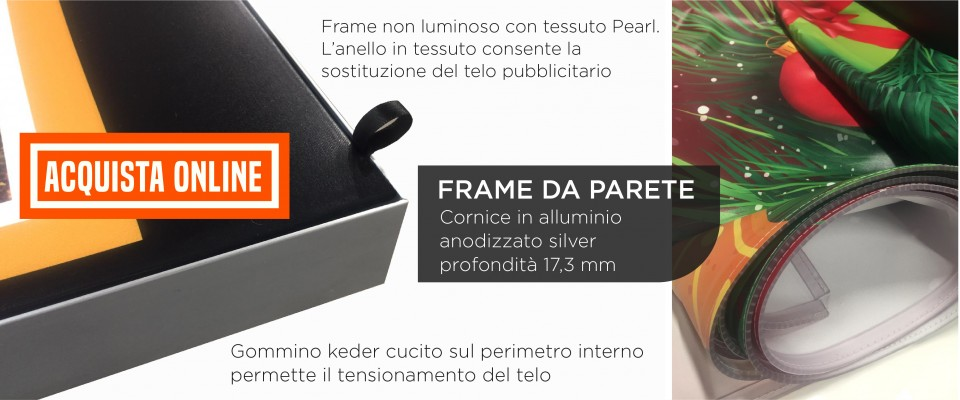 Frame non luminoso acquista online