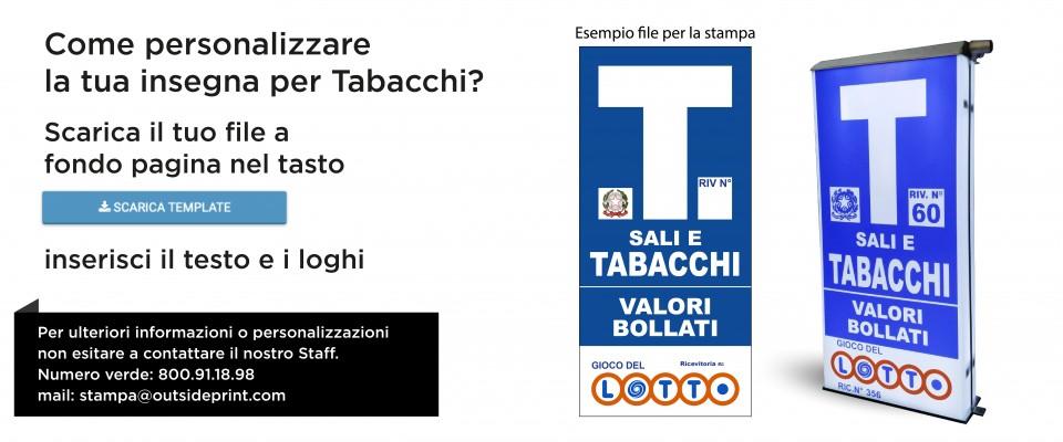 Insegna Tabacchi Economy acquista online