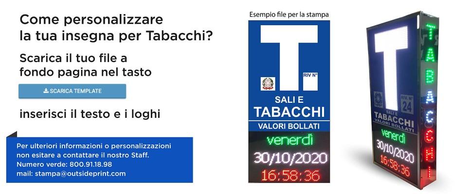 Insegna Tabacchi Ora e Data Full online