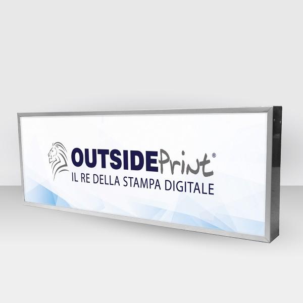 Personalizza Insegna luminosa 200x60 cm