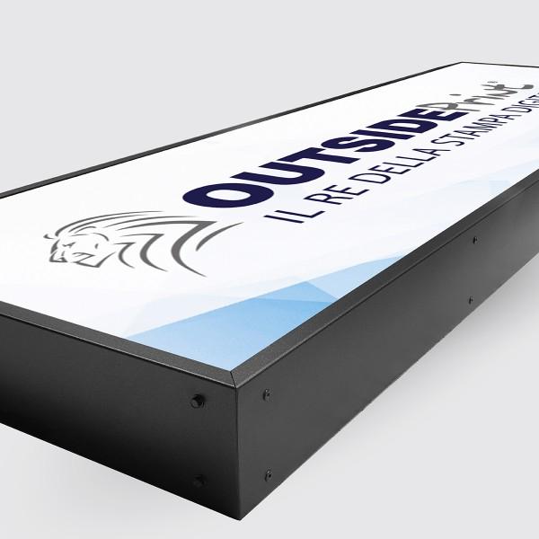 Personalizza Insegna luminosa a LED 300x100 cm
