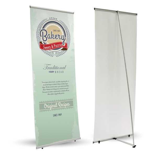L Banner espositori personalizzati espositori per esterni expobanner espositori fiera espositori da terra espositore a L