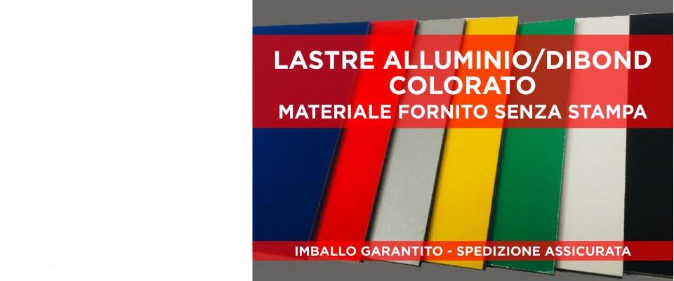 Lastre Alluminio Composito/Dibond Colorato