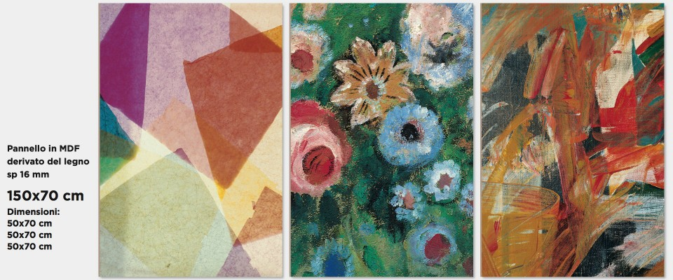 Quadro Abstract Flowers