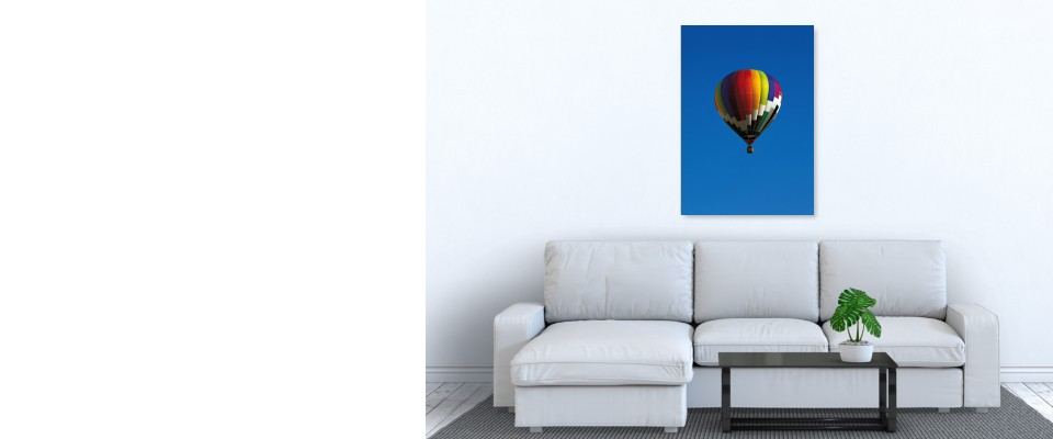 Quadro Hot air balloon