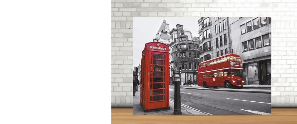 Quadro MDF 100x70 Londra