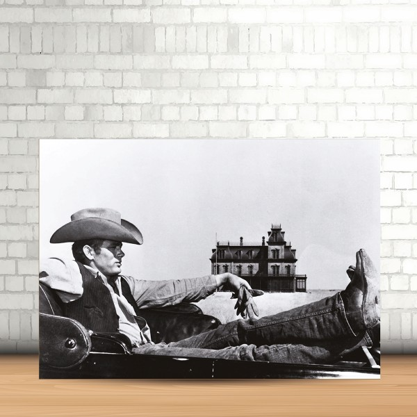 Quadro MDF 100x70 cm James Dean