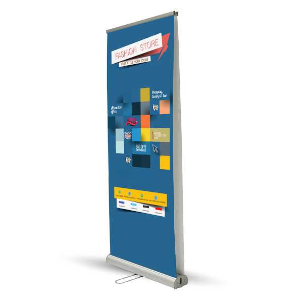 Roll-Up Bifacciale