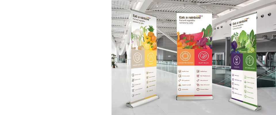 Roll-Up Deluxe 85x200 cm Espositore stampa compresa