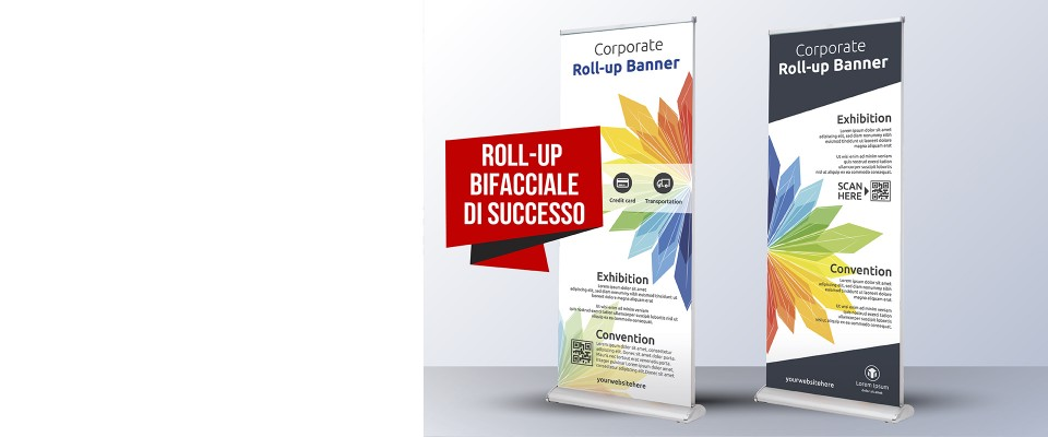 Roll-Up Deluxe-bi personalizzato
