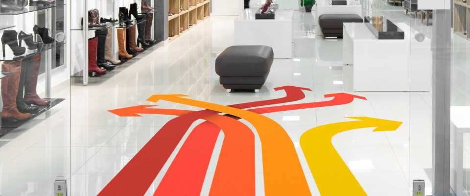 Stampa Adesivi pavimenti 60x60 cm