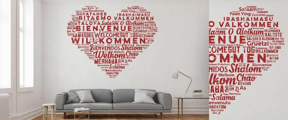 Stampa Adesivi per pareti 100x200 cm personalizzati
