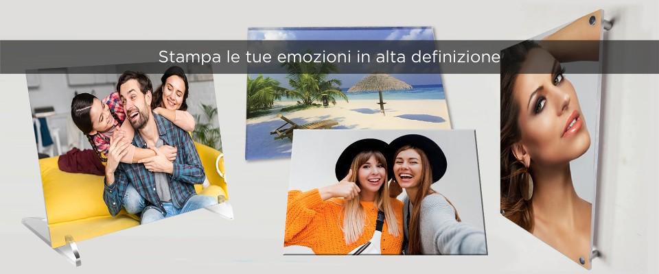 Stampa foto su Plexiglas