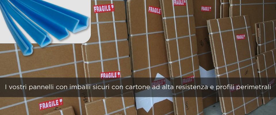 Stampa su Cartone riciclabile imballo