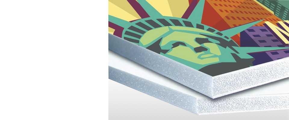 Stampa su pannelli Piuma Sandwich 10mm 140x100 cm