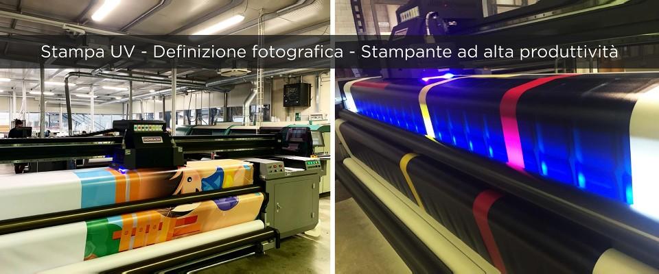 Striscione PVC Retroilluminabile - stampa UV