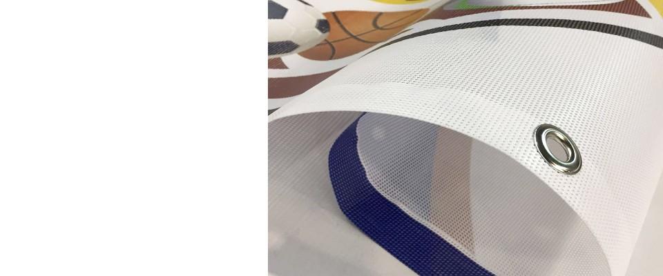 Stampa Striscioni Microforato MESH 1000x60 cm