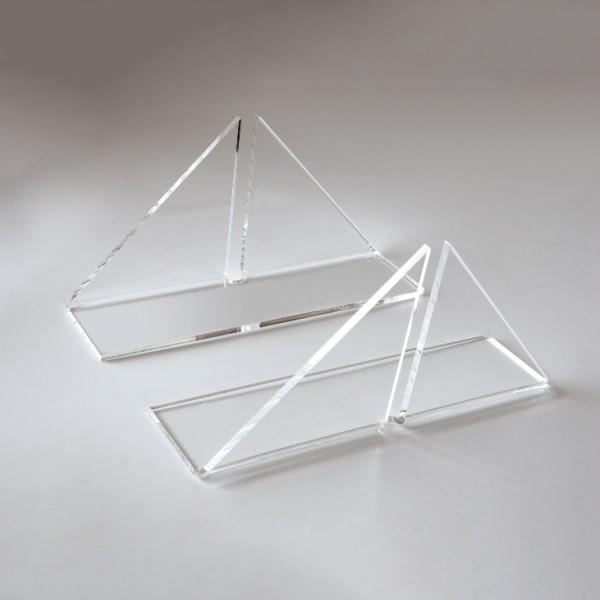 Supporti per pannelli in plexiglass