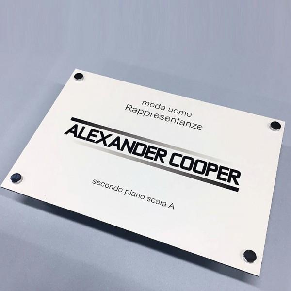 Stampa Targhe 20x15 in Alluminio/Dibond