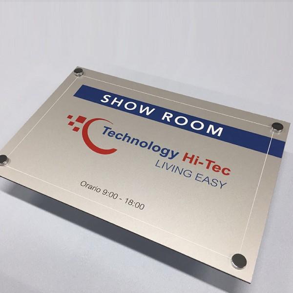 Stampa Targhe 30x20 in Alluminio/Dibond