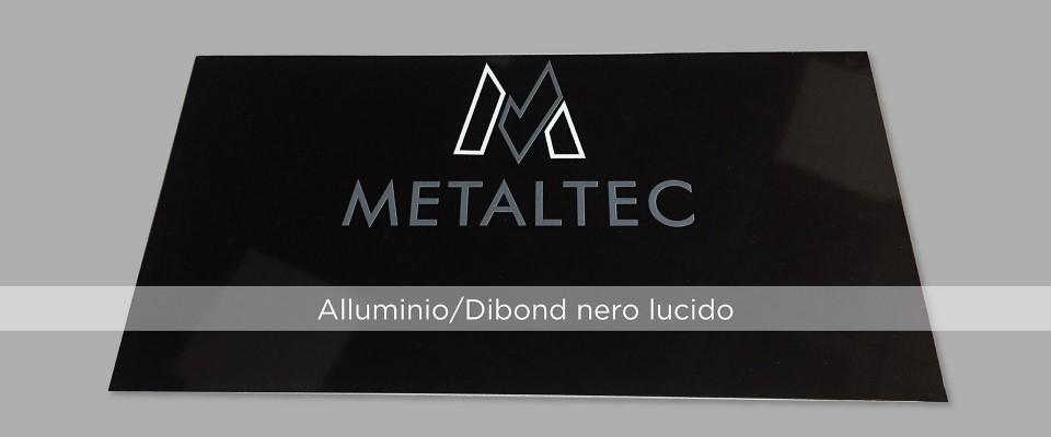 Targhe in Alluminio/Dibond nero online
