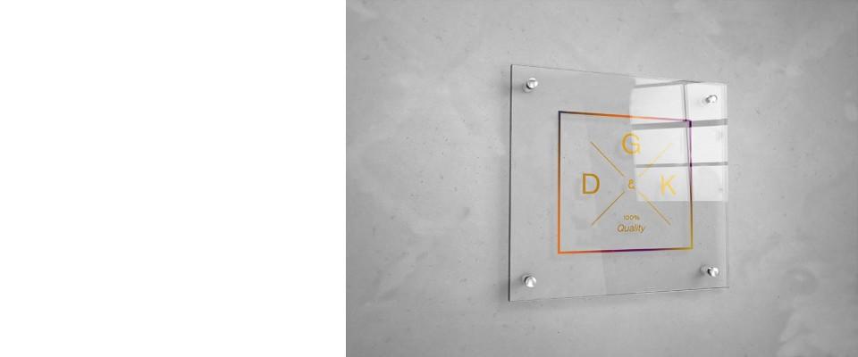 Stampa Targhe in Plexiglas Quadrate