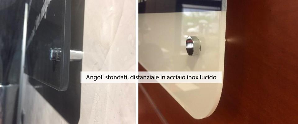 Targhe in Plexiglas® opalino Rettangolari
