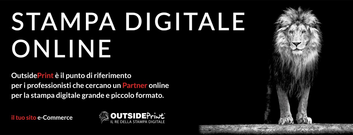 Stampa digitale online - Outsideprint.com
