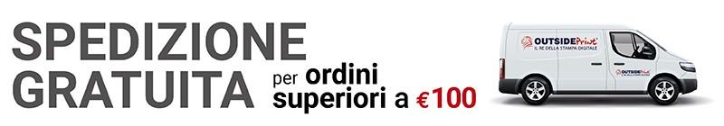 Spedizione gratuita Outsideprint.com ordini superiori 100 euro